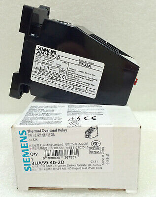 New In Box SIEMENS Thermal Overload Relay 3UA5940-2D 20-32A free shipping