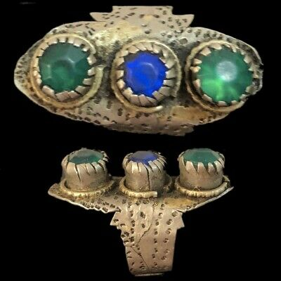 STUNNING TOP QUALITY ANCIENT SILVER MEDIEVAL RING 15th CENTURY (2)