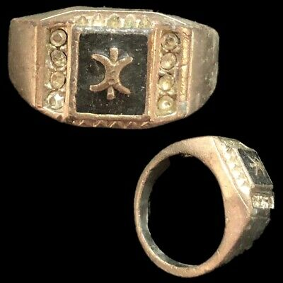 Stunning Top Quality Post Medieval Silver Ring (14)