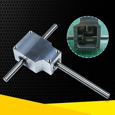 DIY 90° Right Angle Gearbox Speed Reducer Transmission Ratio Tools