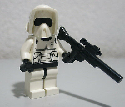 LEGO STAR WARS Minifigure IMPERIAL BIKER SCOUT TROOPER From Set 7956
