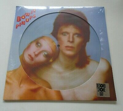 DAVID BOWIE Pin Ups 2019 UK limited remastered vinyl picture disc LP SEALED RSD