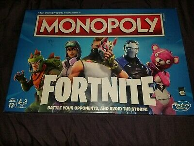 SEALED MONOPOLY Fortnite Edition Board Game Original Factory Sealed