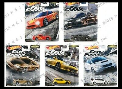 Hot Wheels FAST FURIOUS 2020 * PRE-ORDER * FAST TUNERS SET OF 5 Release F JAN.