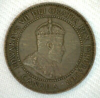 1903 Canada One Cent 1c Coin Large Cent Bronze You Grade