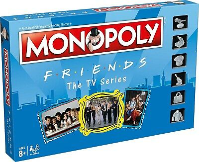 FRIENDS - The TV Series Edition Monopoly Board Game (Winning Moves) #NEW