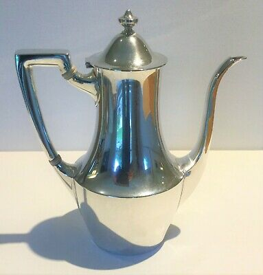 TIFFANY & Co Sterling Silver Demitasse Coffee Pot-5 1/2 Gills-FREE Shipping