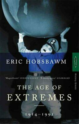 The Age Of Extremes 1914-1991 by Eric Hobsbawm 9780349106717   Brand New