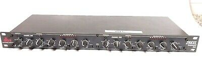 DBX 266XL Compressor Gate Limiter Dual Stereo Rack Mount Professional 2-Channel