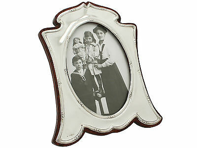 Large Antique Photo Frame in Sterling Silver by Charles S Green & Co Ltd