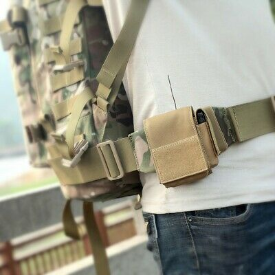 Outdoor Molle Cigarette Pouch Tactical EDC Utility Cigar Waist Pack Holder Bag
