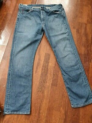 auth mens big and tall Polo Ralph Lauren jeans hampton straight 42/34 never worn