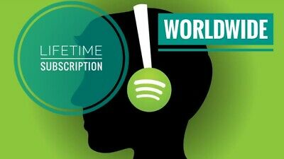 Spotify Premium | Upgrade Existing Acc Or New Private Acc | Lifetime | Worldwide