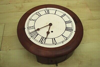 Antique wall clock spares or repair only.