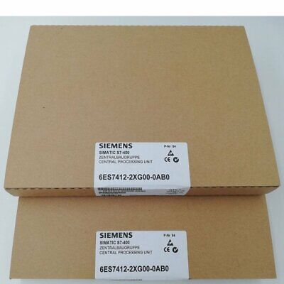 6ES7412-2XG00-0AB0 1PC Siemens Module New in Box 6ES7 412-2XG00-0AB0