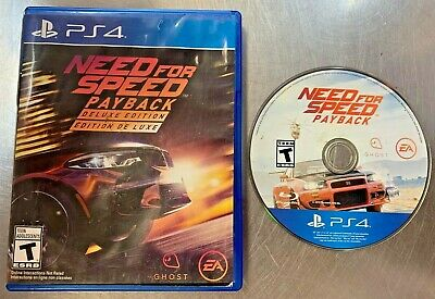 Playstation 4 - Need for Speed: Payback Deluxe Edition (GC)