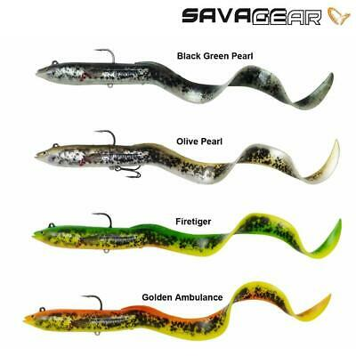 38g cod lures big pike Savage Gear Real Eel Ready to Fish 20cm
