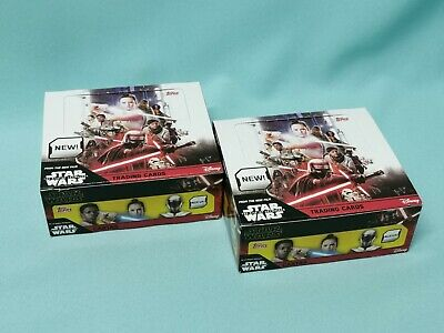 Topps Star Wars  The Rise of Skywalkers Teil 2  2 x Display / 60 Booster