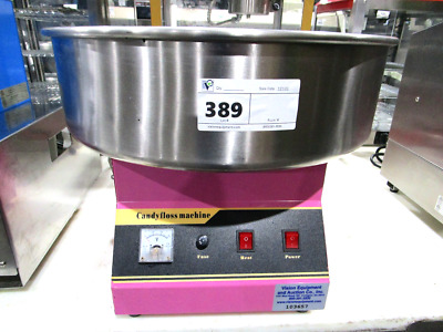 Benchmark Usa 81011 Cotton Candy Machine With 21In. Stainless Steel Bowl