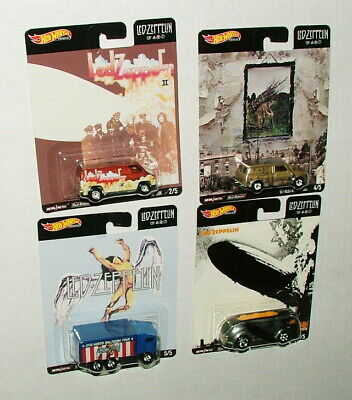 % 2019 Diecast Led Zeppelin Car Collection  Mint On Original Cards M-8