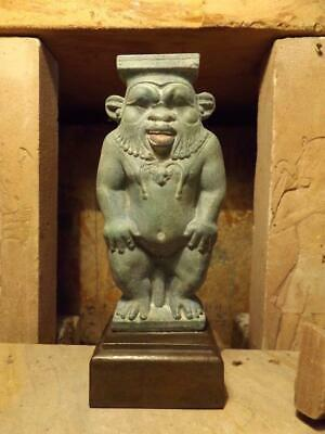 Egyptian statue / sculpture - Bes - Domestic protection god  childbirth, mothers