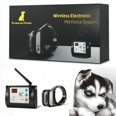 Blingbling Petsfun Electric Wireless Dog Fence System for Dogs