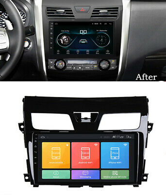 For Nissan Teana /Altima 2013-16 Car Radio 10.1'' Android 9.1 GPS w/ Canbus DAB