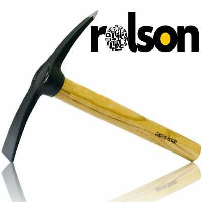 Rolson 20oz 560g Fibreglass Brick Hammer / Brick & Masony Chisel for Bricklayers