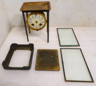 Victorian French Striking Crystal Regulator Project---Glass, Movement, Case