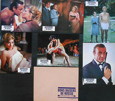 FROM RUSSIA WITH LOVE 6 x L.C French James BOND