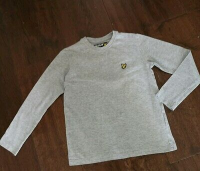 GENUINE BOYS Lyle and Scott Long Sleeved T shirt Age 8-9 YRS