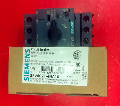 1PC NEW Siemens Circuit Breaker 3RV6021-4NA10 23-28A free shipping#XR