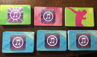 60 Apple Music ITunes cards NO VALUE Collectible Gift Cards, Crafts Various