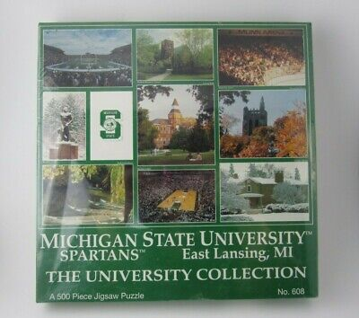 NEW Sealed Houghton Hancock Michigan 500 Pc Puzzle By The Daily Mining Gazette