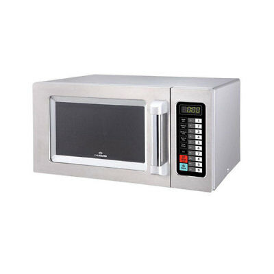 Chefmaster 1000 watt 25 litre Microwave - HEB082 Catering Commercial