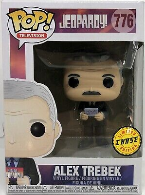 Funko Pop Alex Trebek CHASE Jeopardy Television Game show Host Vinyl Figure
