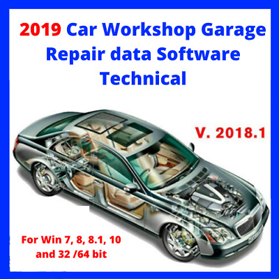🔥Car Workshop 2019 Garage Repair data Software Technical ☑ Fast Delivery🔥🔥
