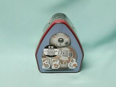 Topps Star Wars  The Rise of Skywalkers Tin Box BB 8 inkl. Patch Karte