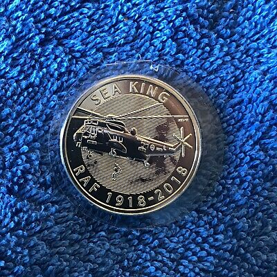 2018 Royal Mint Air Force Sea King £2 Two Pound Brilliant UNCIRCULATED Coin