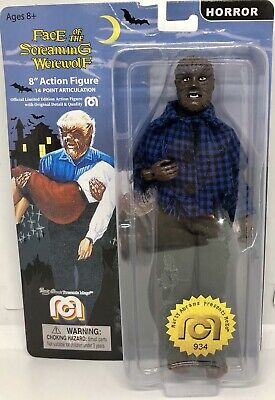 """Mego Horror The Face Of The Screaming Werewolf 8"""" Action Figure Marty Abrams"""