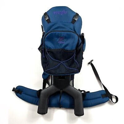 Evenflo Trailtech Baby Toddler Child Hiking Backpack Carrier Stand Attached Bag