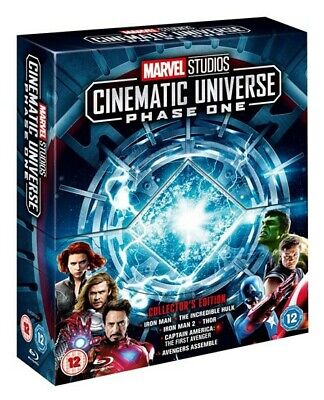 Marvel Studios Cinematic Universe Phase One Collector's Edition Box Set Blu-ray