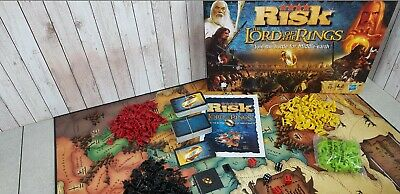 Risk Lord of the Rings Edition Tolkien Middle Earth Map (Hasbro, Board Game)
