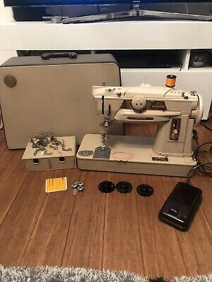 Singer 401g Electric Sewing Machine  heavy duty , Slant Shaft Needle