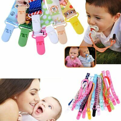 Baby Pacifier Clips Pacifier Chain Dummy Clip Nipple Holder