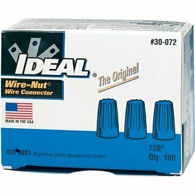Ideal 30-073 Wire-Nut Wire Connector 30073 box of 100 qty 2