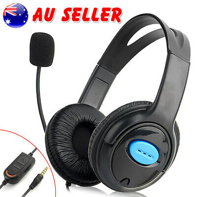 3.5mm Gaming Headset MIC Stereo Headphones for PC Laptop Sony PS4 PS3 Xbox One