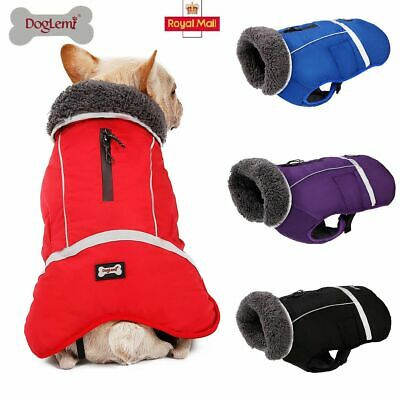 Dog Clothes Winter Waterproof Pet Dog Coat Jacket Fashion Vest Small Large Dog