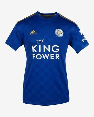 Leicester City Home Shirt 2019/20 Top Quality Adult Size Clearance 70% SALE BNWT