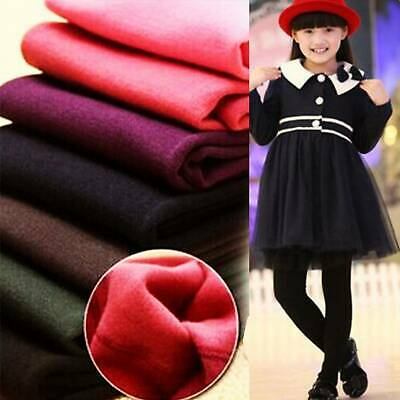 Girl Thick Fleece Thermal Legging Stretchy Trousers Pants Winter Warm 2-7 Year